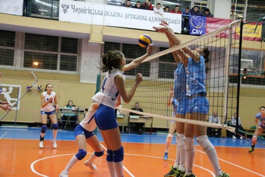 Волейболистки из Чернигова снова остались без очков, фото-1