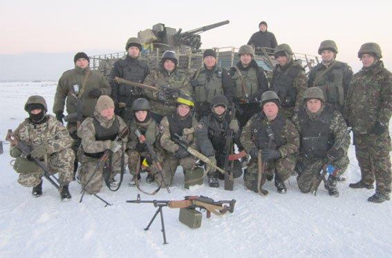 Военнослужащие Кременчугского батальона Национальной гвардии принимали гостей из Кременчуга (фото) (фото) - фото 1