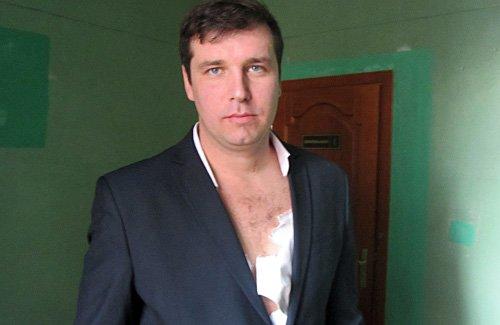 Битва гигантов: Мэр Полтавы избил депутата полтавского горсовета (ФОТО) (фото) - фото 1