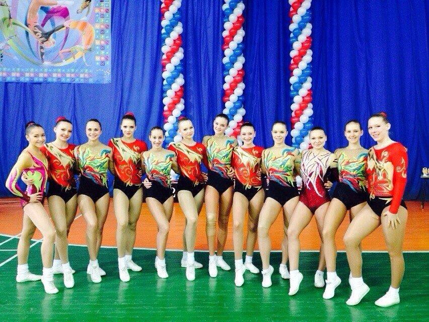 Успешно выступила сборная Домодедово на всероссийских соревнованиях по спортивной аэробике (фото) - фото 1