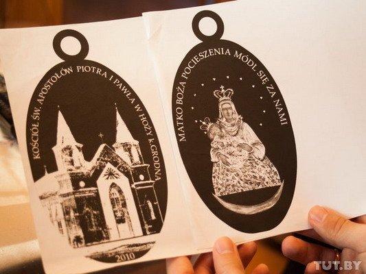 Под Гродно ксендз коллекционирует медальоны: «По медальонам можно определить популярность святых» (Фото), фото-12