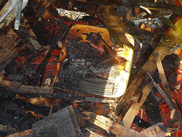 В Николаеве 17 спасателей тушили загоревшийся кран на высоте птичьего полета (ФОТО) (фото) - фото 1