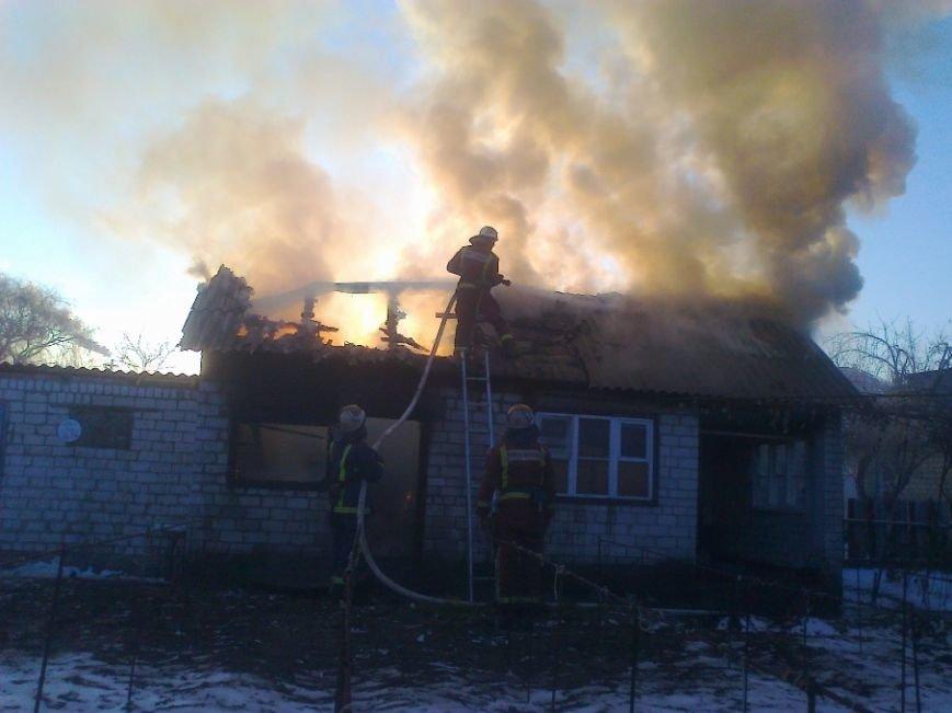 В частоном секторе Светловодска произошел пожар (фото) - фото 1
