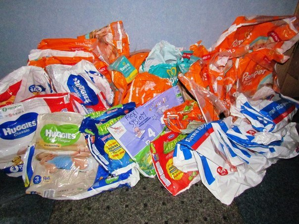 Мариупольцев просят помочь беженцам — склады с продуктами и памперсами пусты (ФОТО), фото-1