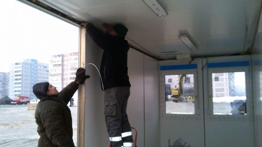 В Днепродзержинске устанавливают модульные дома для переселенцев (фото) - фото 3