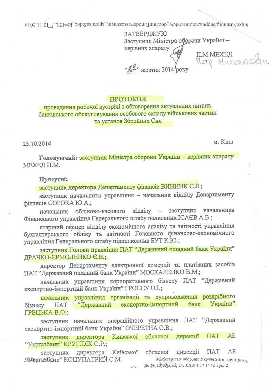 Законных оснований для перевода военных на обслуживание в госбанки не существует - Минобороны Украины (фото) - фото 1