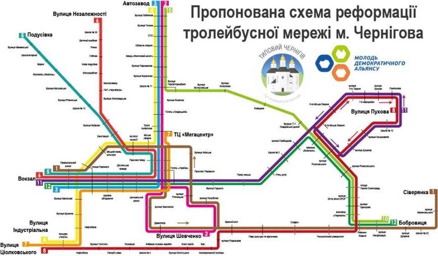 тролейбусна схема