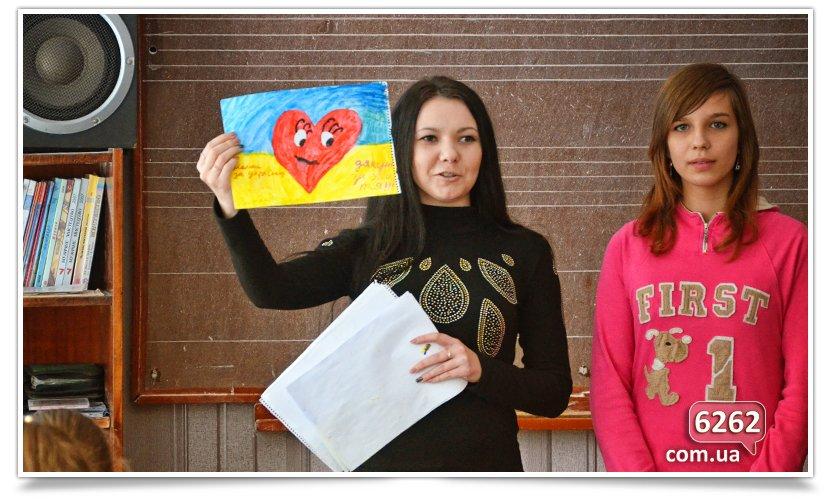 Ученики ООШ № 15 нарисовали патриотические рисунки для солдат. (фото) - фото 3