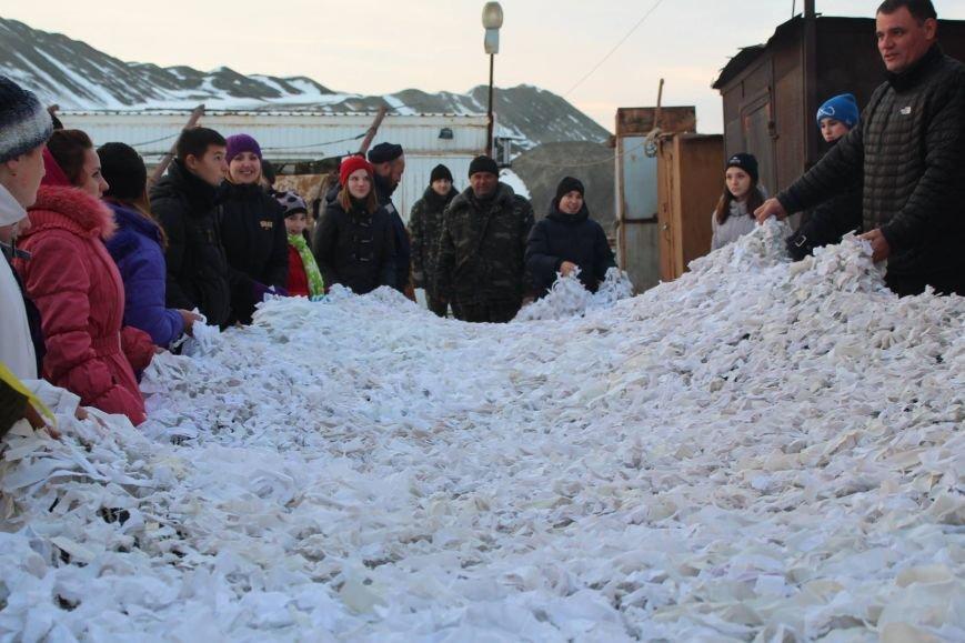 Бывшие мариупольские беспризорники замаскировали военных под снег (ФОТО), фото-3