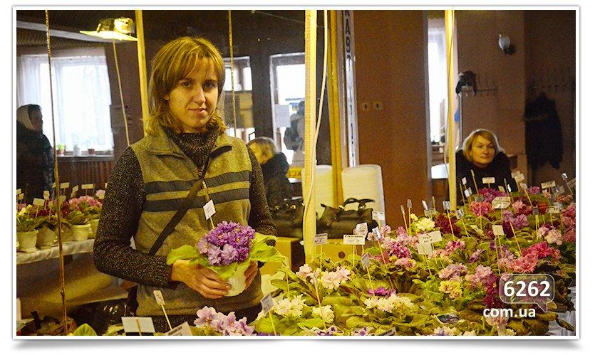 Зимняя выставка фиалок в Славянске (фото) - фото 7