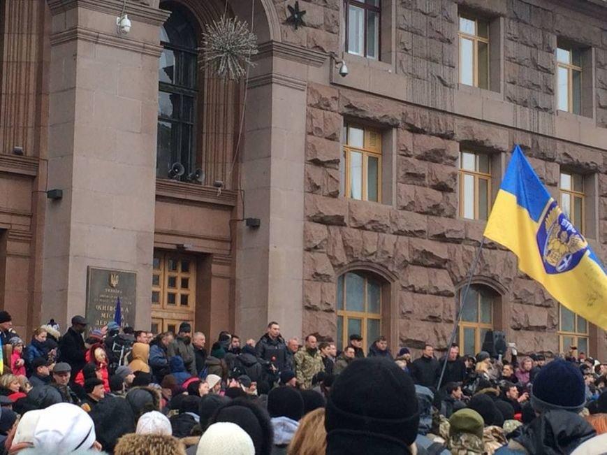 В День ВСУ бойцы 12-го батальона прошли маршем по Крещатику (ФОТ, ВИДЕО) (фото) - фото 1
