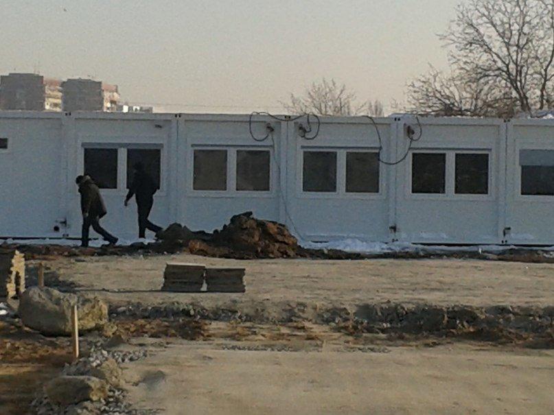 На Левобережном-3 в Днепропетровске строят модульные домики для переселенцев (ФОТОРЕПОРТАЖ), фото-2