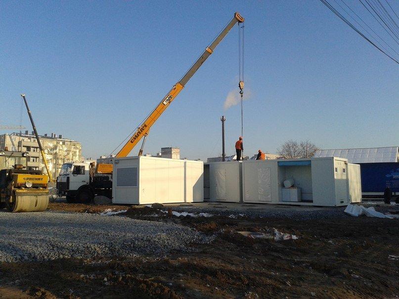 На Левобережном-3 в Днепропетровске строят модульные домики для переселенцев (ФОТОРЕПОРТАЖ) (фото) - фото 4