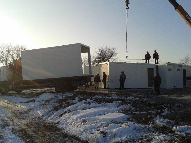 На Левобережном-3 в Днепропетровске строят модульные домики для переселенцев (ФОТОРЕПОРТАЖ) (фото) - фото 3