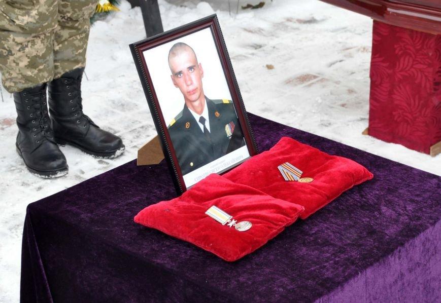 В Запорожье простились с потомком кошевого атамана, погибшим в зоне АТО, фото-6