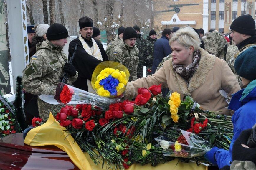 В Запорожье простились с потомком кошевого атамана, погибшим в зоне АТО, фото-8