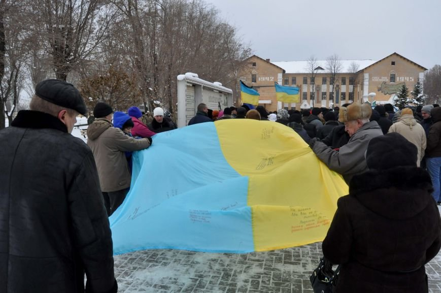 В Запорожье простились с потомком кошевого атамана, погибшим в зоне АТО (фото) - фото 2