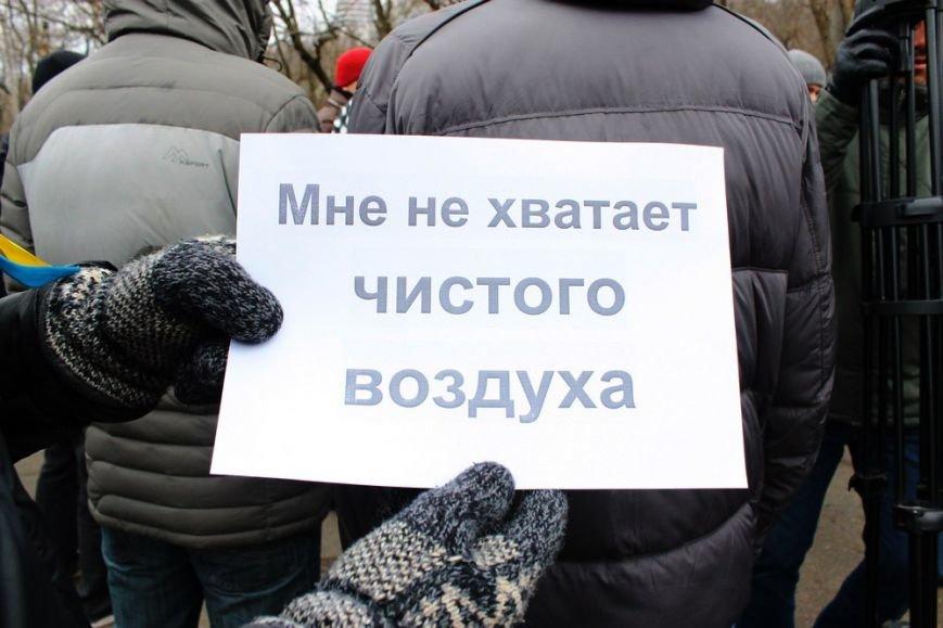 В Одессе борцы за Ланжерон в качестве протеста сожгли автомобиль. Пока картонный (ФОТО) (фото) - фото 2