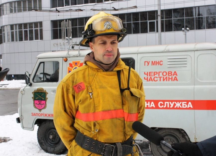 ФОТОРЕПОРТАЖ: В Запорожье состоялись пожарные учения в отеле «Шератон», фото-11