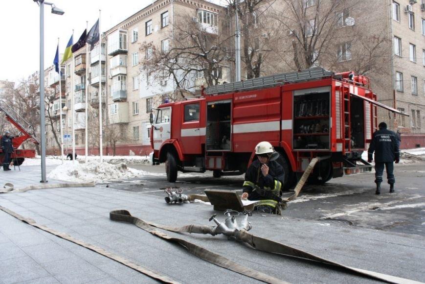 ФОТОРЕПОРТАЖ: В Запорожье состоялись пожарные учения в отеле «Шератон», фото-6