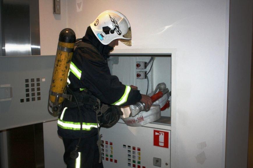 ФОТОРЕПОРТАЖ: В Запорожье состоялись пожарные учения в отеле «Шератон», фото-9