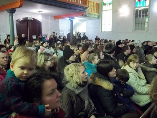 В Лютеранской кирхе прошел благотворительный мюзикл «Гадкий утёнок» (Фото), фото-2