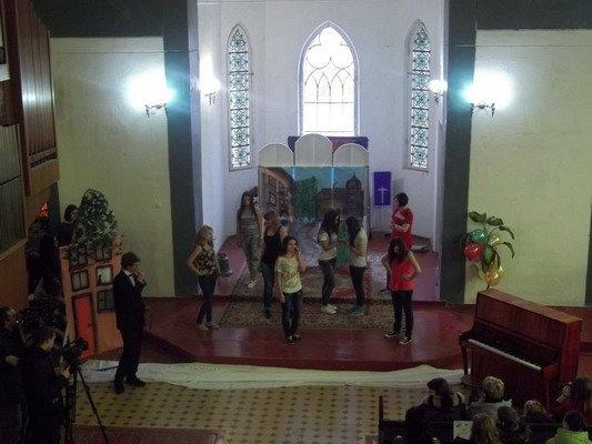 В Лютеранской кирхе прошел благотворительный мюзикл «Гадкий утёнок» (Фото), фото-4