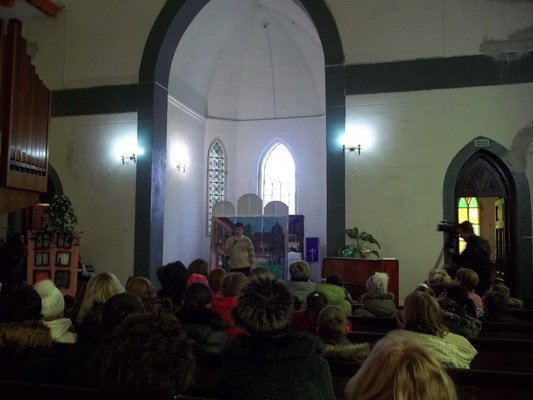 В Лютеранской кирхе прошел благотворительный мюзикл «Гадкий утёнок» (Фото), фото-3