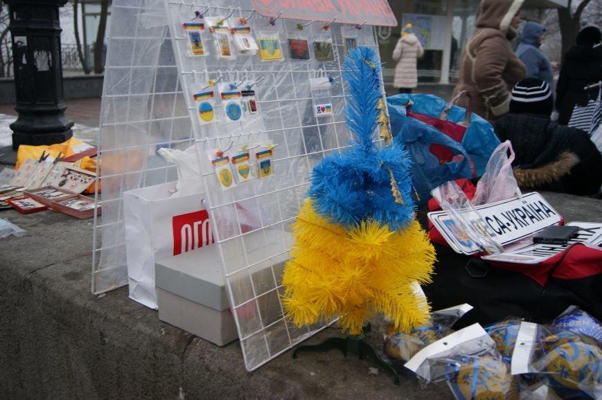 В Одессе продают патриотические елки (ФОТОФАКТ) (фото) - фото 1