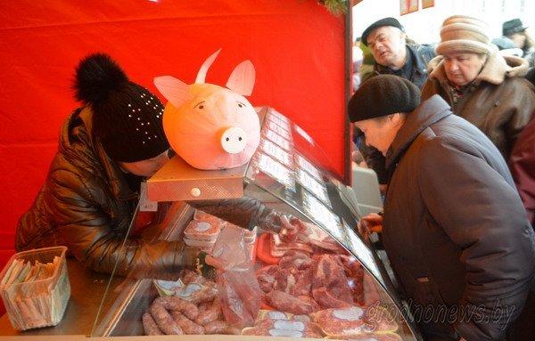 Мясная ярмарка в Гродно собрала большие очереди (Фото), фото-5