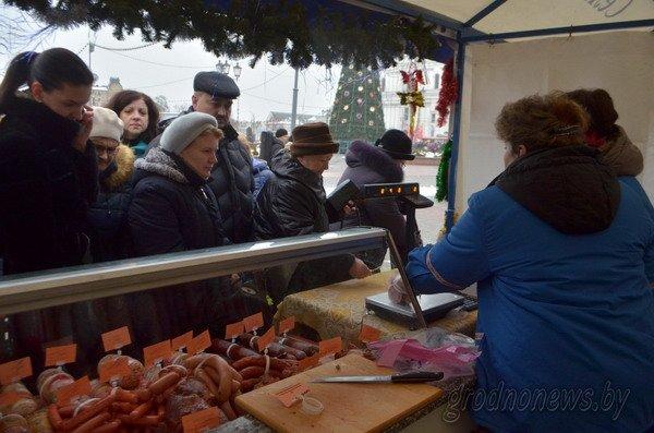 Мясная ярмарка в Гродно собрала большие очереди (Фото), фото-8