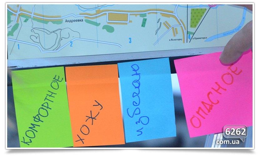 Арт-мобилизация составляет карту комфорта Славянска. (фото) - фото 2