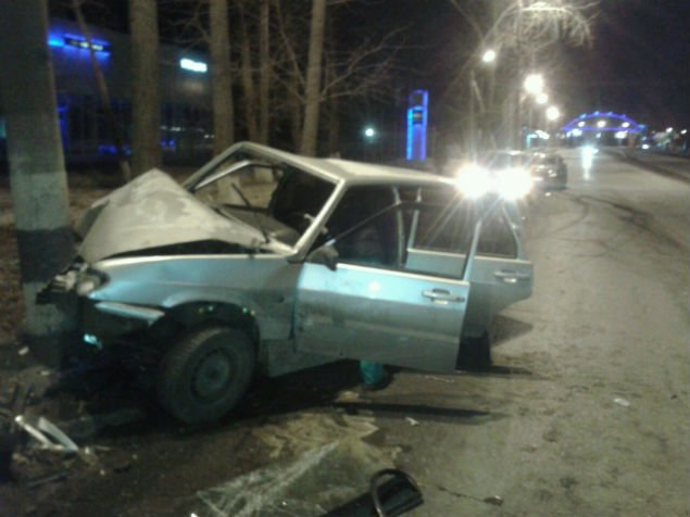 В Ульяновске «ВАЗ-2114» превратился в груду металла (фото) - фото 3