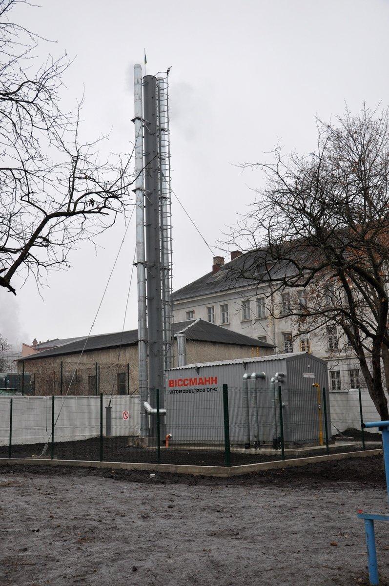 У Львові за 2,5 млн грн. побудували котельню, яка ефективно обігріває гімназію на багатоповерховий будинок (ФОТО) (фото) - фото 3