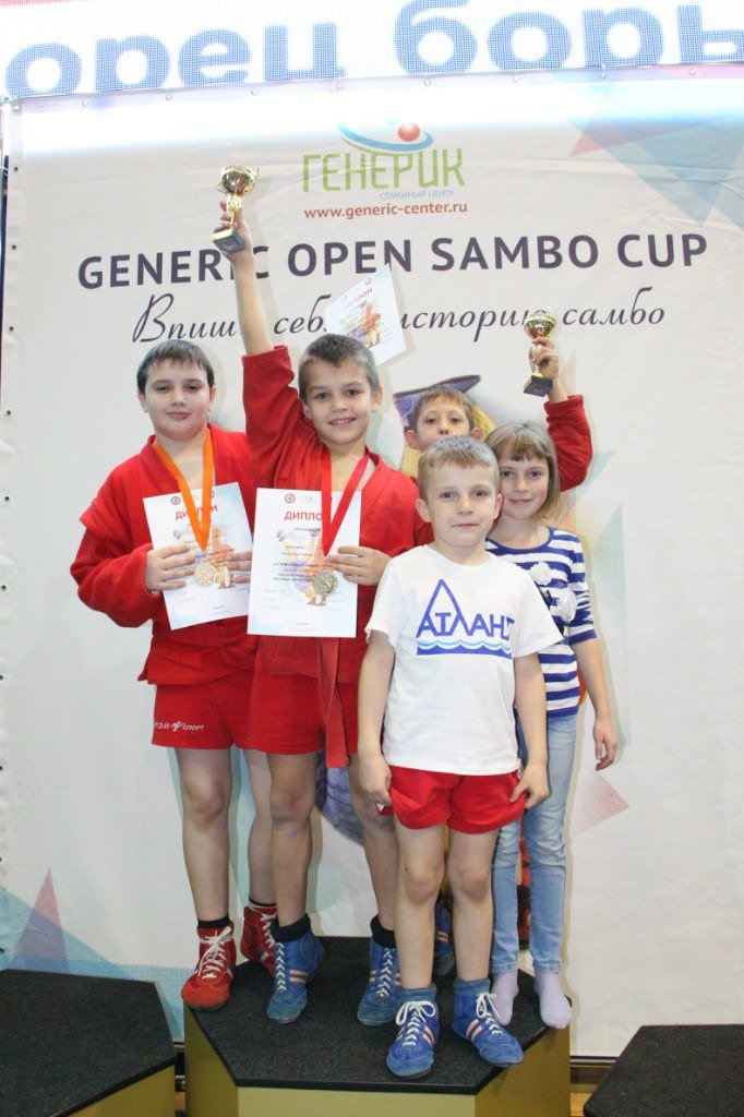 3 медали завоевали самбисты из домодедовского «Атланта» на GENERIC OPEN SAMBO CUP (фото) - фото 1