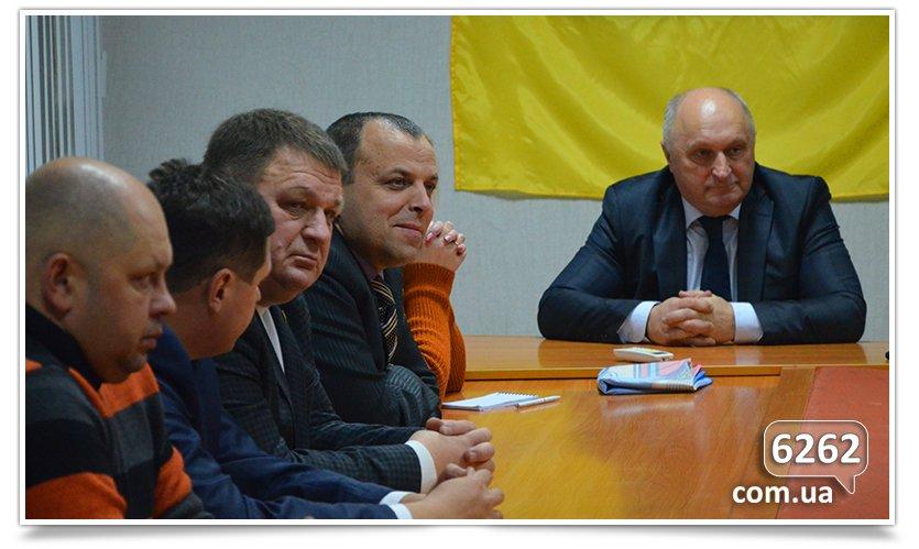 Делегация из Коростеня встретилась с предпринимателями Славянска. (фото) - фото 1
