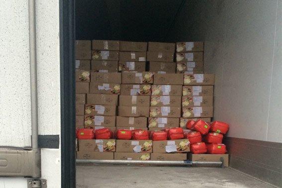 До Львова «їхало» 20 тон підозрілого сиру (ФОТО) (фото) - фото 1