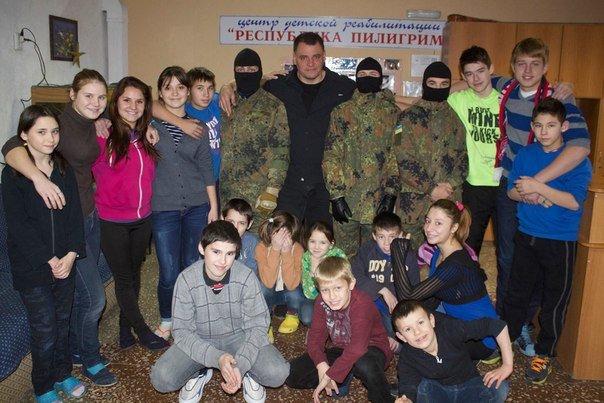 В состав Самообороны входят бывшие беспризорники Мариуполя (ФОТО), фото-1