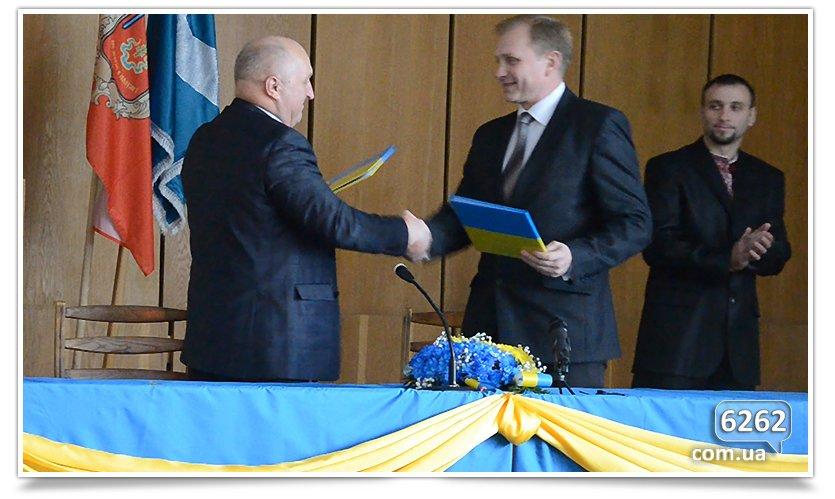 Славянск и Коростень сегодня стали побратимами. (фото) - фото 1