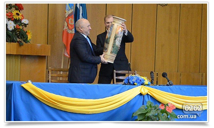 Славянск и Коростень сегодня стали побратимами. (фото) - фото 4