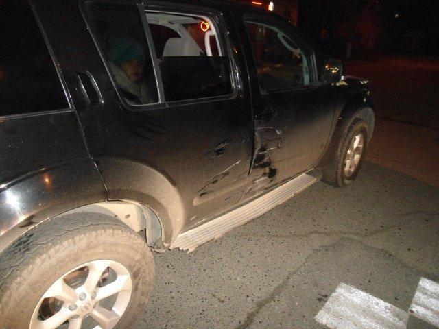 места наибольшего повреждения авто