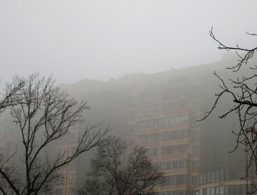 Город-призрак: Одессу спрятал утренний туман (ФОТО) (фото) - фото 1