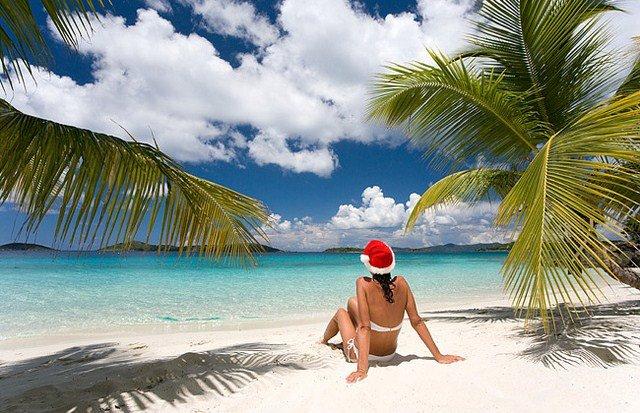 Новый-год-на-пляже-на-Гоа