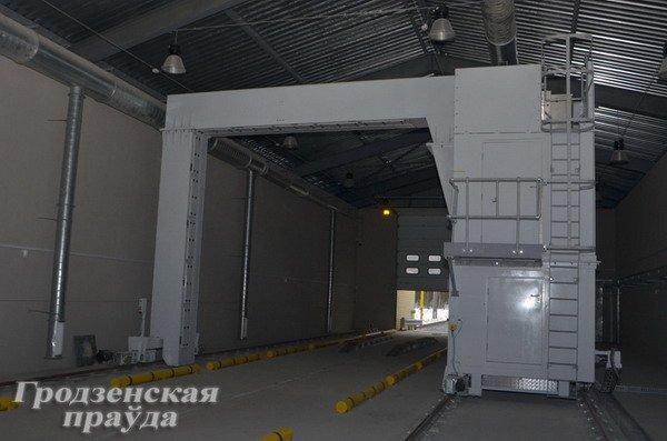 В «Привалке» установили новый «рентген» для сканирования машин (Фото), фото-2
