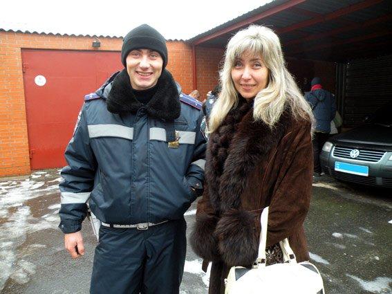 Николаевские ГАИшники вернулись из зону АТО с другом, которому спасли жизнь (ФОТО) (фото) - фото 1