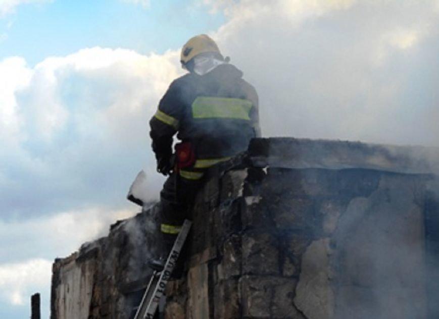 Ликвидирован пожар в частном доме в Домодедово (фото) - фото 1