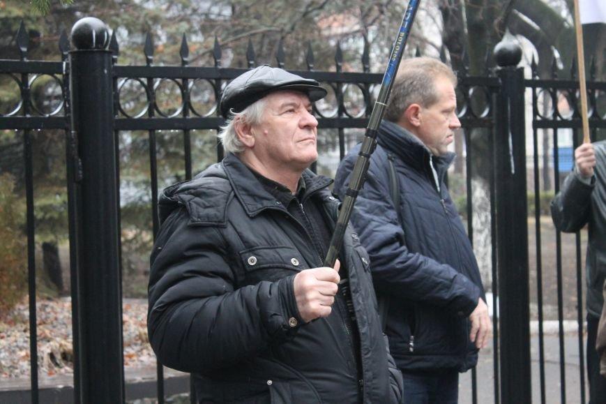 В Кривом Роге «Независимый профсоюз горняков Украины» провел акцию протеста (ФОТО), фото-10