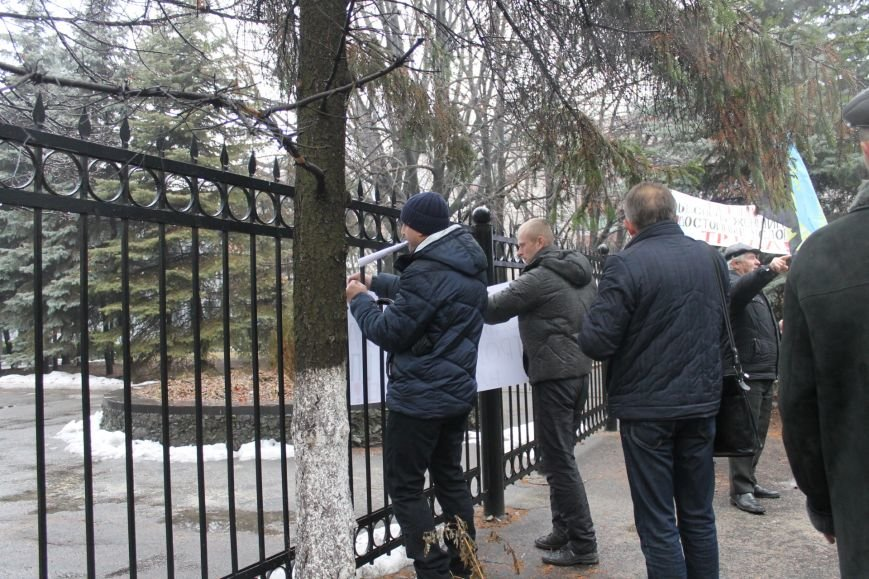 В Кривом Роге «Независимый профсоюз горняков Украины» провел акцию протеста (ФОТО), фото-9