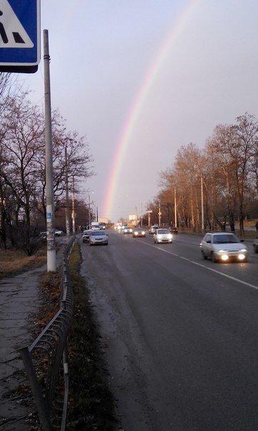Утром природа порадовала симферопольцев красивой радугой (ФОТО, ВИДЕО) (фото) - фото 6