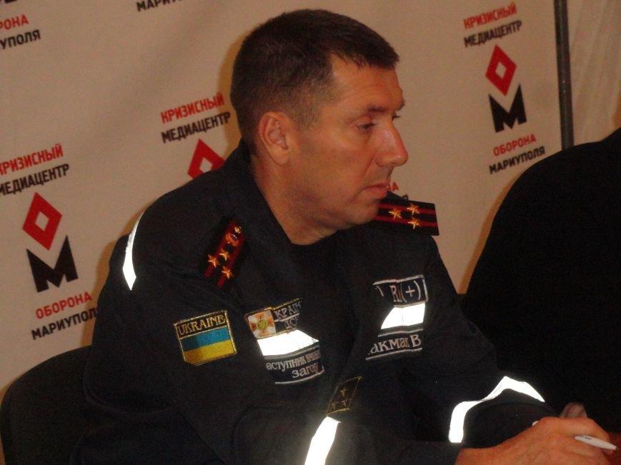 В Мариуполе сотрудники ГСЧС тушили пожары и обезвреживали опасные предметы (ФОТО) (фото) - фото 1
